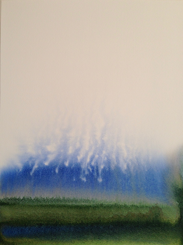 No.5 trial watercolor on paper 41 x 31cm, 2020